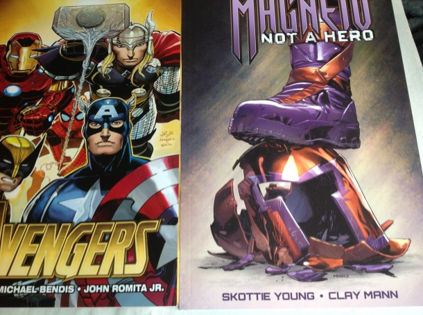 Avengers and evil X-men from Bendis and Skottie Young (and more)