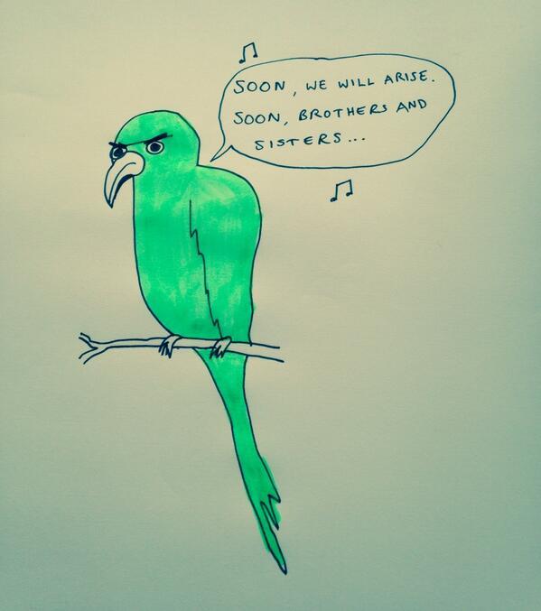 London parrot