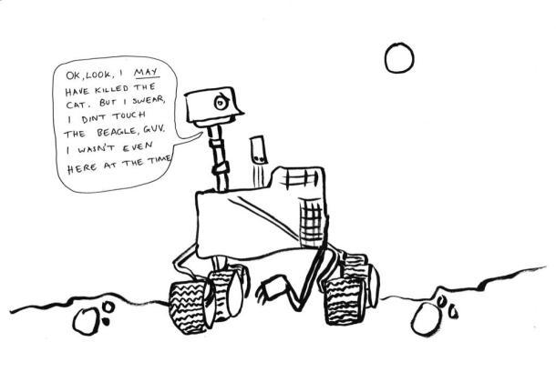 Curiosity did not kill the beagle honest